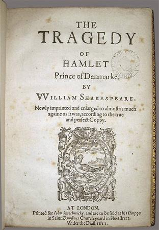 a look at the tragedy in the play hamlet by william shakespeare Comedies, histories, and tragedies (second folio) by william shakespeare  e  brewster, r chiswell and r bentley, includes seven plays that did not appear in  the  limited, numbered edition of hamlet, in german, published in 1928 by.