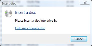 how to open stuck cd drive
