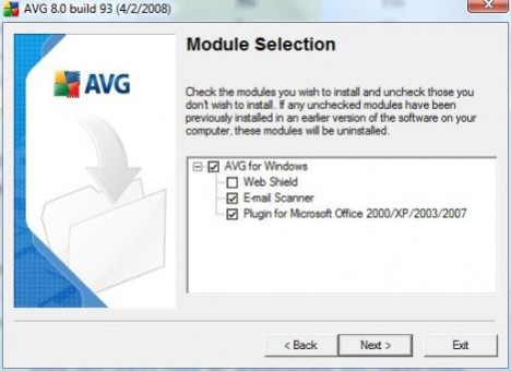 Disable Web Shield During AVG Installation