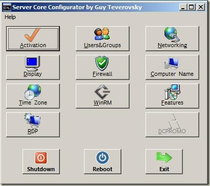 CoreConfigurator (Core Configurator) GUI Configuration Tool