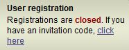 Demonoid Closed Registration