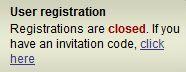 Demonoid Closed Registration
