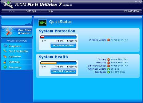 VCOM Fix-It Utilities 7 Express