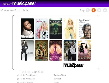 Free MP3 Download at Platinum MusicPass
