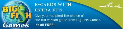 Free Games with Hallmark E-Card