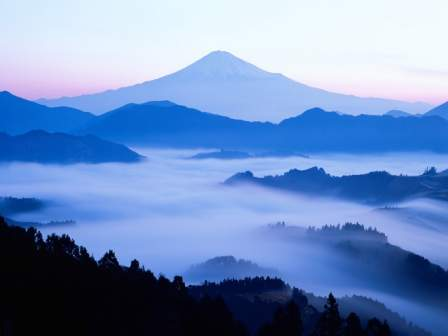 Mountain Mist Wallpaper