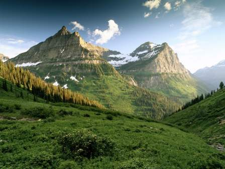 Mountain Scenery Free Wallpaper