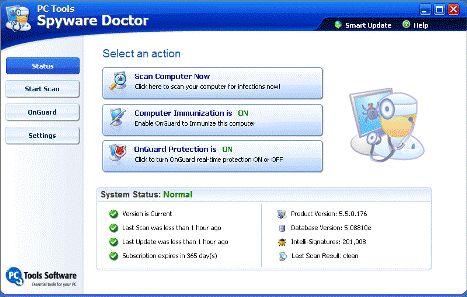 Spyware Doctor Starter Edition