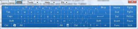 On-Screen Keyboard in Windows Vista