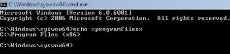 32-bit Command Prompt