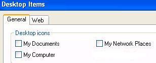 IE Desktop Icon Not Showing in Windows XP SP3