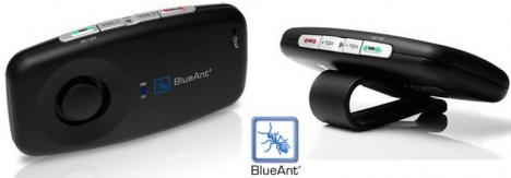 blueant s1 sun visor mount car speakerphone