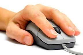 left hand mouse