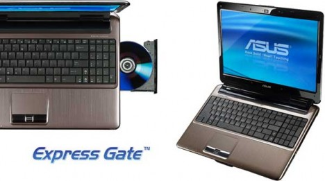 Asus N51 Series with Express Gate