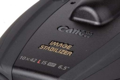 Canon 10x42L IS WP image stabilizer