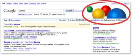 Lock SafeSearch Colored Balls