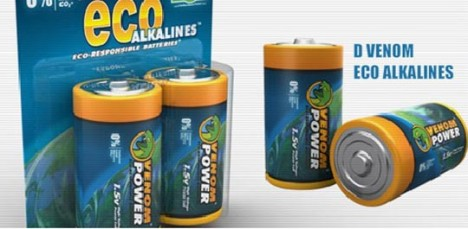 Venom Eco Alkaline Batteries