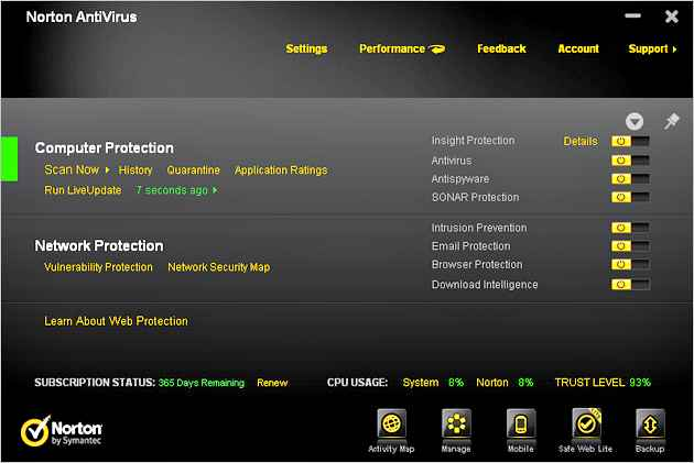Norton AntiVirus 2012 Free Download with 6 Months Trial Serial Key