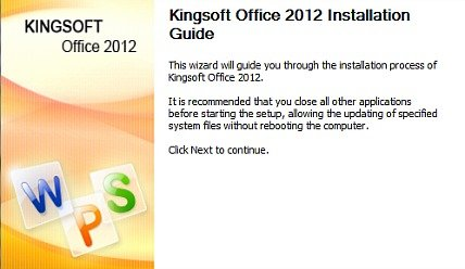 Kingsoft Office 2012 Standard Edition Free Download With Genuine