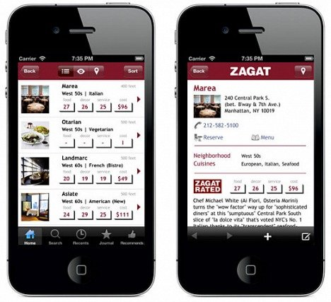 Zagat For Android Users Free Direct Download Link