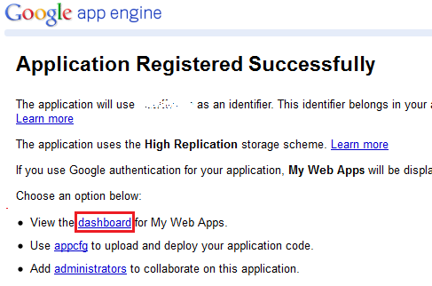 appengine-app-success