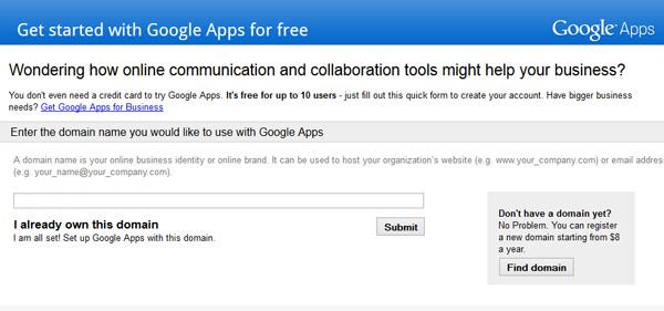free-google-apps-standard