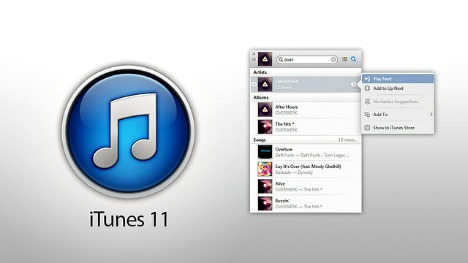 iTunes 11 Released for Free Download for iOS 6 Support