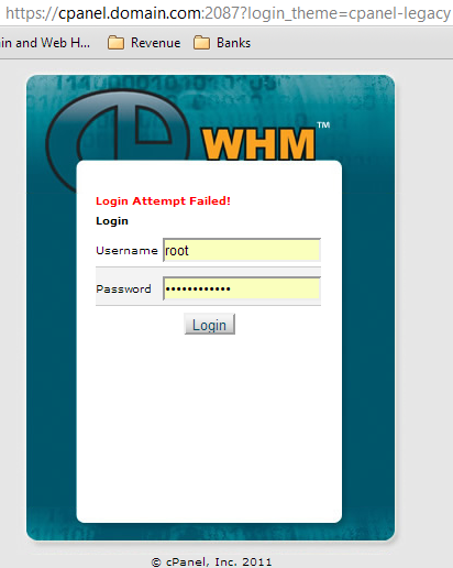 Force Chrome to Save Login Credentials of cPanel with Legacy Theme