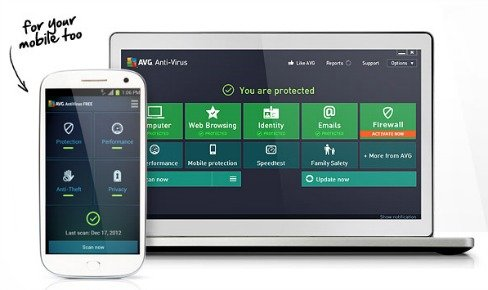 AVG Anti-Virus 2013 Free Direct Download Link With 1-Year License Serial Key Code