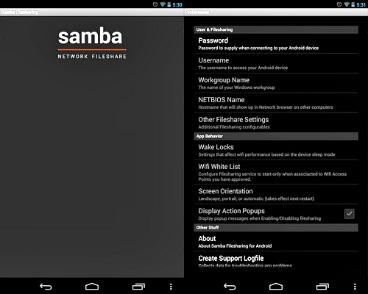 Sambafile sharing