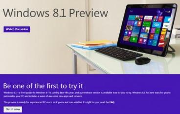Windows 8.1 get it now