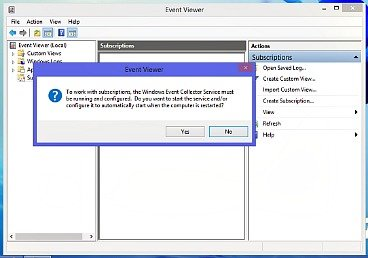 how to clear event viewer windows 8