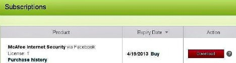 McAfee Internet Security 2013 Download
