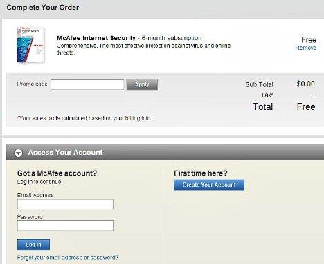 McAfee Internet Security 2013 Free