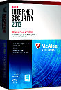 McAfee Internet Security 2013 box