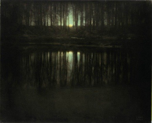The Pond Moonlight