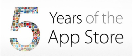 iTunes App Store 5 Year Anniversary Giveaway ; Infinity Blade II, Barefoot World Atlas, Traktor DJ, Where's My Water