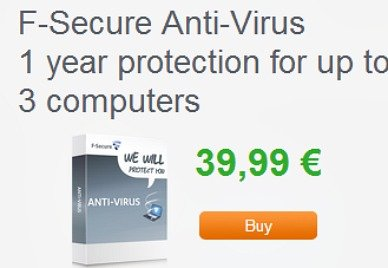 F-Secure Antivirus 2013 Free