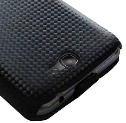 Slimline Carbon Fiber Style Flip Case