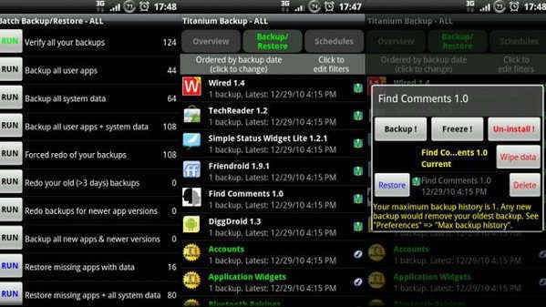 How To Backup and Restore Your Android Phone with Titanium Backup For Android [Complete Guide]