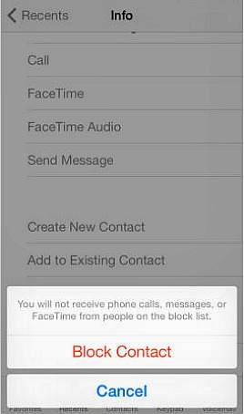 How To Block Any Unwanted Caller's Phone Number From Contacting On iOS 7