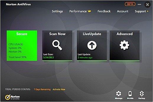 Free Norton AntiVirus 2014 180 Days License Download