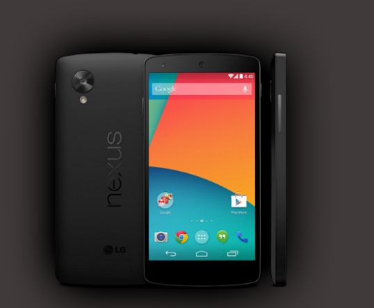 Google Nexus 5 Smartphone Now Available in Google Play Store
