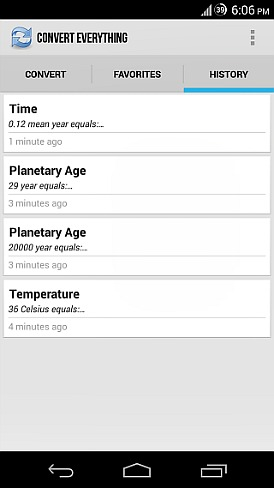 How To Convert Units, Measurements and Calculation For Android Device With Convert Everything