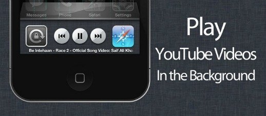 How To Play YouTube Videos In The Background On iPhone or iPad For iOS 7