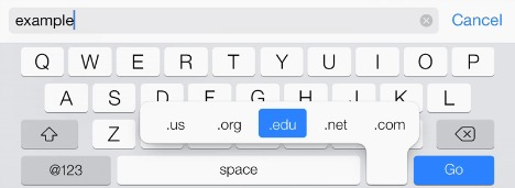 Keyboard Shortcuts and Typing Tips for iPad, iPhone & iPod Touch
