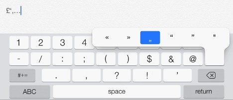 Keyboard Shortcuts for iPhone, iPad, iPod Touch(Update iOS 7)