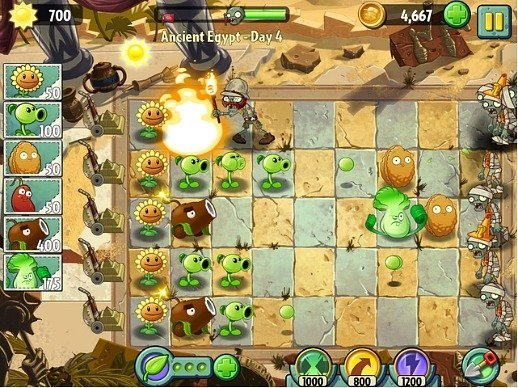 Plants Vs. Zombies 2 Now Available for Android