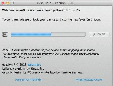 Jailbreak iOS 7 with evasi0n 7 (iPhone 5s, 5c, 5, 4s, 4 & More)