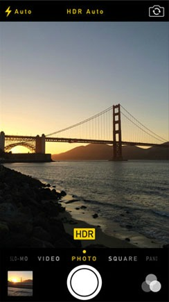 How To Use iOS 7.1 Auto HDR On The iPhone 5s Setting